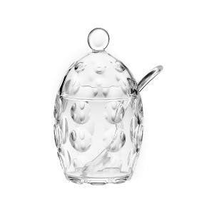 Guzzini - Venice Sugar Bowl with Sugar Spoon Transparent (β)
