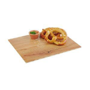 APS - Melamine Platter Flat Wood Color 32.5 x 17.5cm (β)