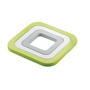 Guzzini - MY KITCHEN Trivet 3 Pieces Green (β)