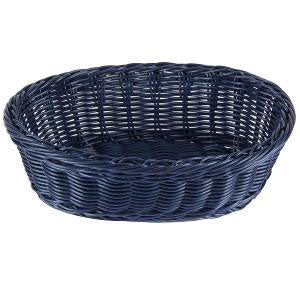 Table Craft - Ov Basket PP 23x16cm Blue (β)
