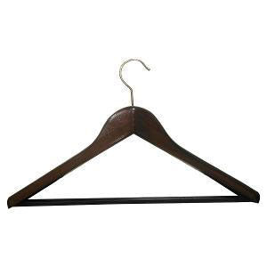 Weber - Suit Wide Wooden Hanger Dark Wood (β)