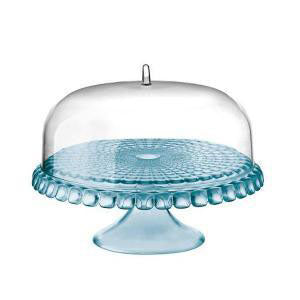 Guzzini - Cake Stand With Dome Sea Blue (β)