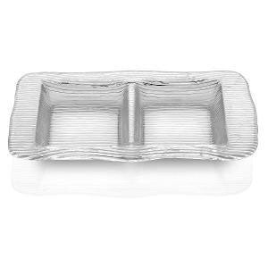IVV - Rectangular Relish Dish Dia 37x21cm Transparent (β)