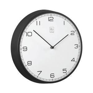 Mascagni - Wall Clock Round 32cm Black & White (β)