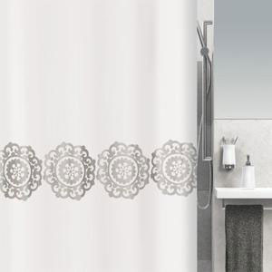 Spirella - Medallion Shower Curtain- Size: 180x200cm (β)