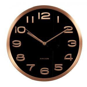 P.T - Maxie Copper Wall Clock Black (β)