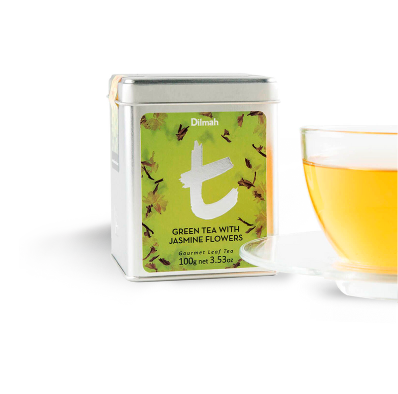 Dilmah - T Green Tea With Jasmine Green Tea (β)