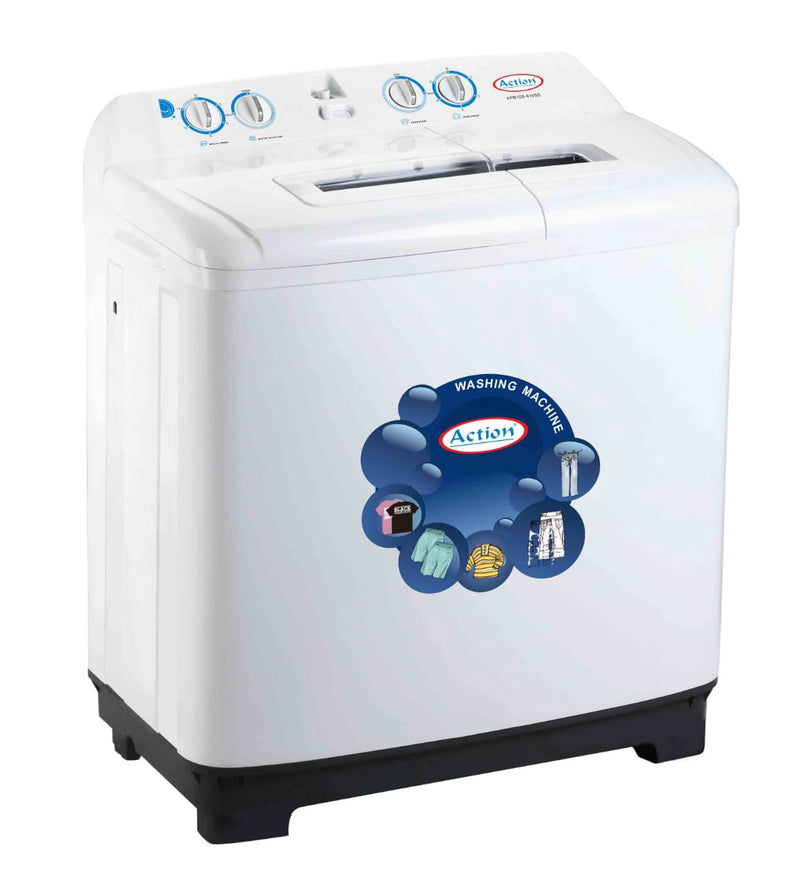 Action - 10 kg Twin Tub Washing Machine