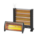 Simfer Heater (2200W) + Samix Electric Heater With (3 Burners - 2100W)