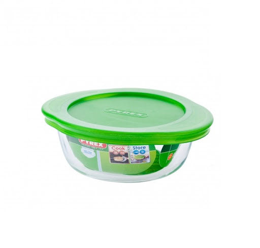 Pyrex - Cook & Store Round Dish With Lid (1.1L - 2.3L)