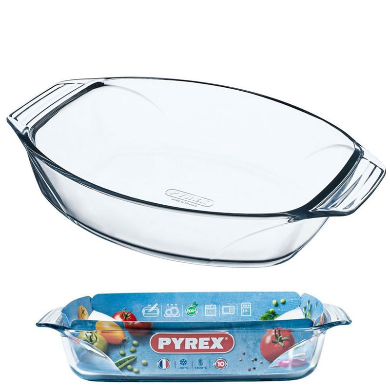 Pyrex - Optimum Square Roaster With Handle