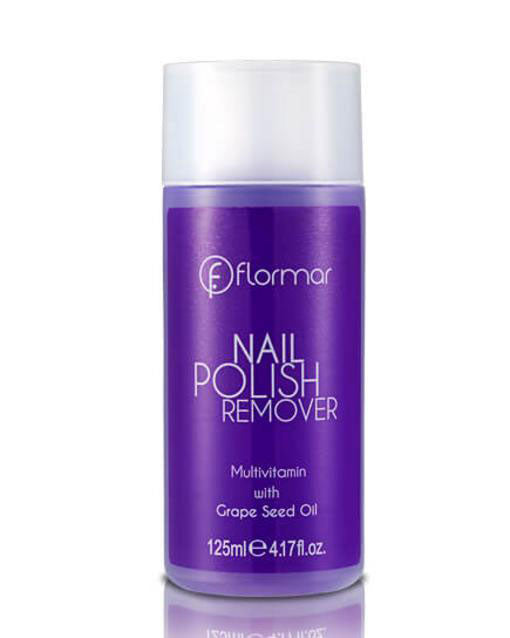 Flormar - Nail polish remover grape seed oil - مزيل طلاء اظافر