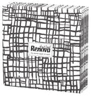 Renova - Table Napkins - Abstract Express Black (β)