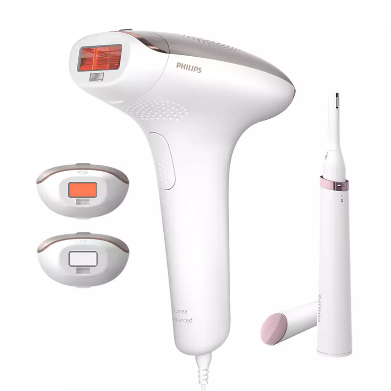 Philips - IPL Hair Removal Device + FREE Hair Dryer or FREE Oneblade Shaver