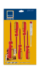 Mega Hardware -  6 Pcs Ved Screwdriver Set (β)