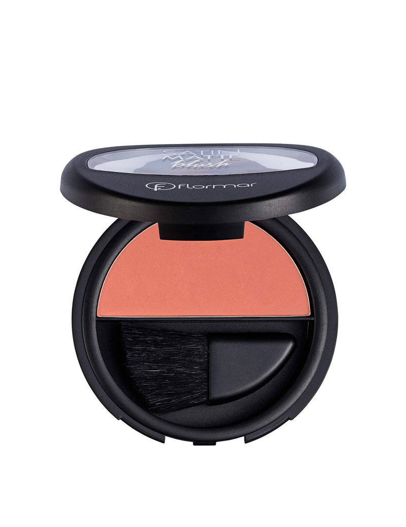 Flormar - Satin matte blush-on  - احمر خدود مطفي
