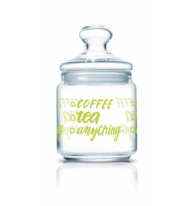 Luminarc - Coffee-Tea Storage Glass Jar (0.75L)