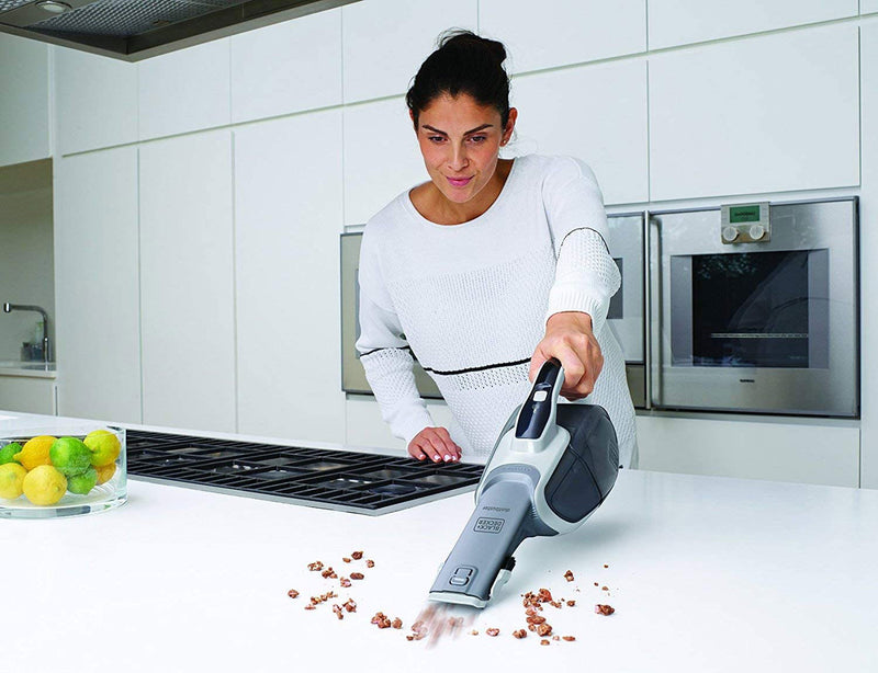 Black & Decker -  Lithium-ion Cordless dustbuster with Cyclonic Action (10.8Wh - 7.2 V) (β)