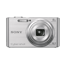 Sony - Cyber-Shot Dsc-W730 16.1Mp Point And Shoot Camera With 8X Optical Zoom + Camera Case (β)