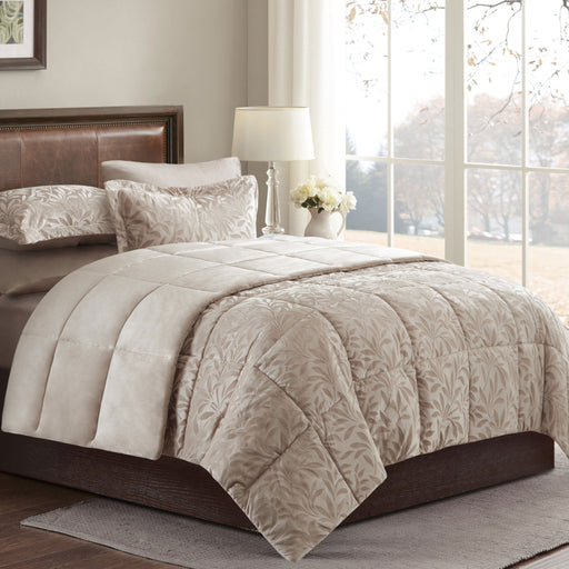 Nova - Leaves Comforter 4 Pcs Set