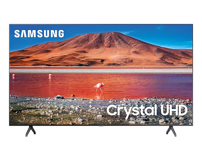 "SAMSUNG - 75"" Crystal UHD 4K Smart TV (2020)"