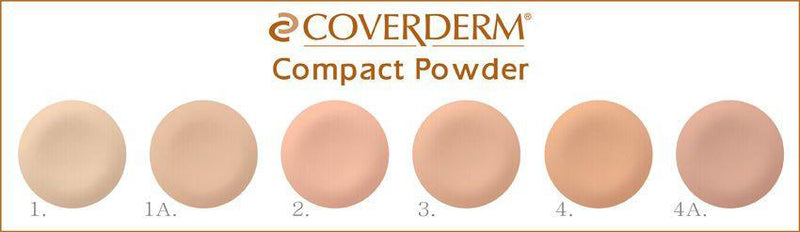 Coverderm - Compact Powder For Normal Skin (10G) (β)