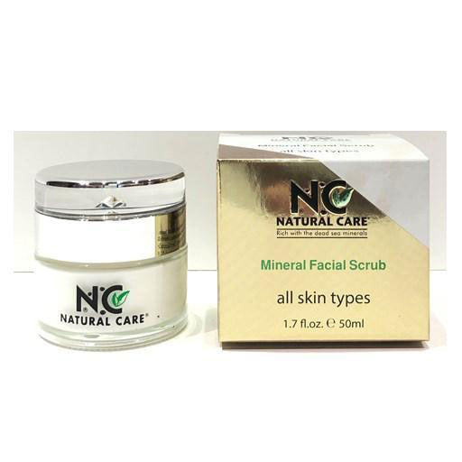 NC - Dead Sea Mineral Facial Scrub Cream
