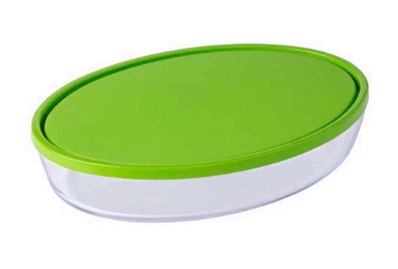 Pyrex - Cook & Store Oval Dish  With Lid (3 L - 35Cm)