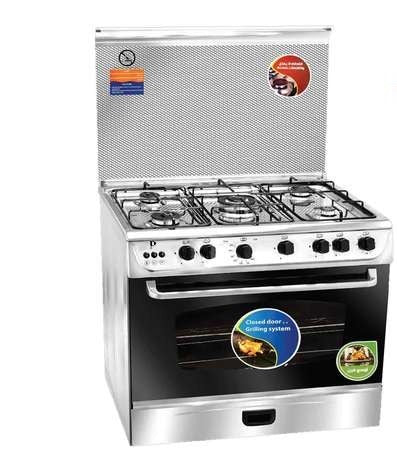 Sp - Oven (Full Safety / Stainless Steel / 5 Eyes / 90Cm) (β)