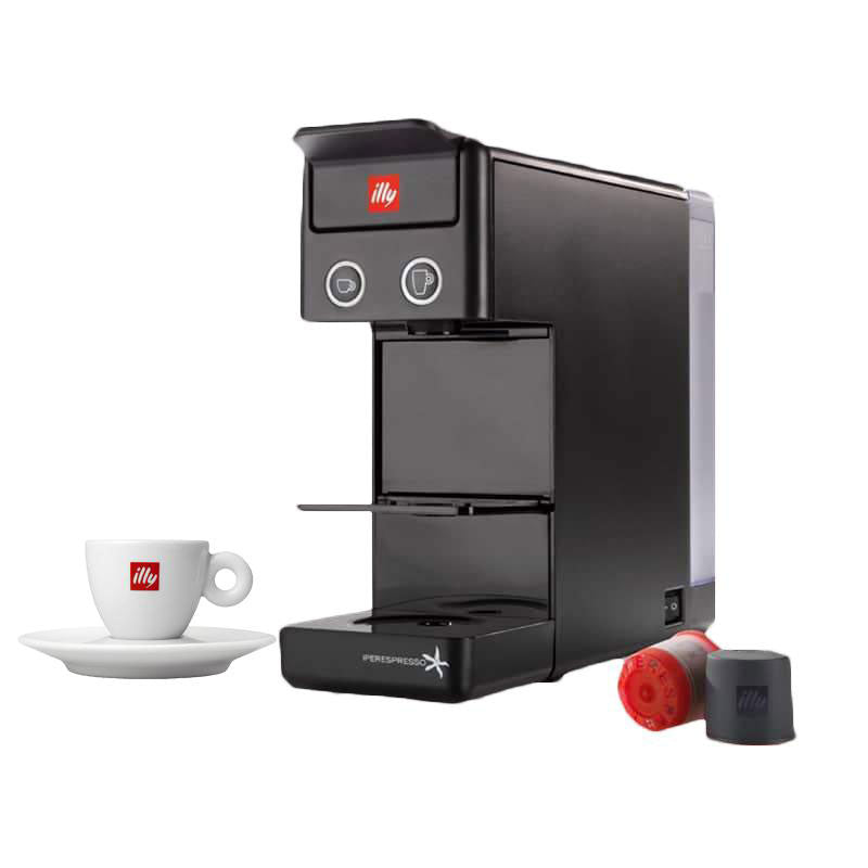 Illy - Y3.2 iperEspresso. Espresso & Coffee Machine - Black