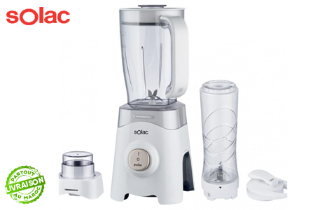Solac - Mixer With Coffee Grinder And Sport Shaker (1.25L / 450W) (β)