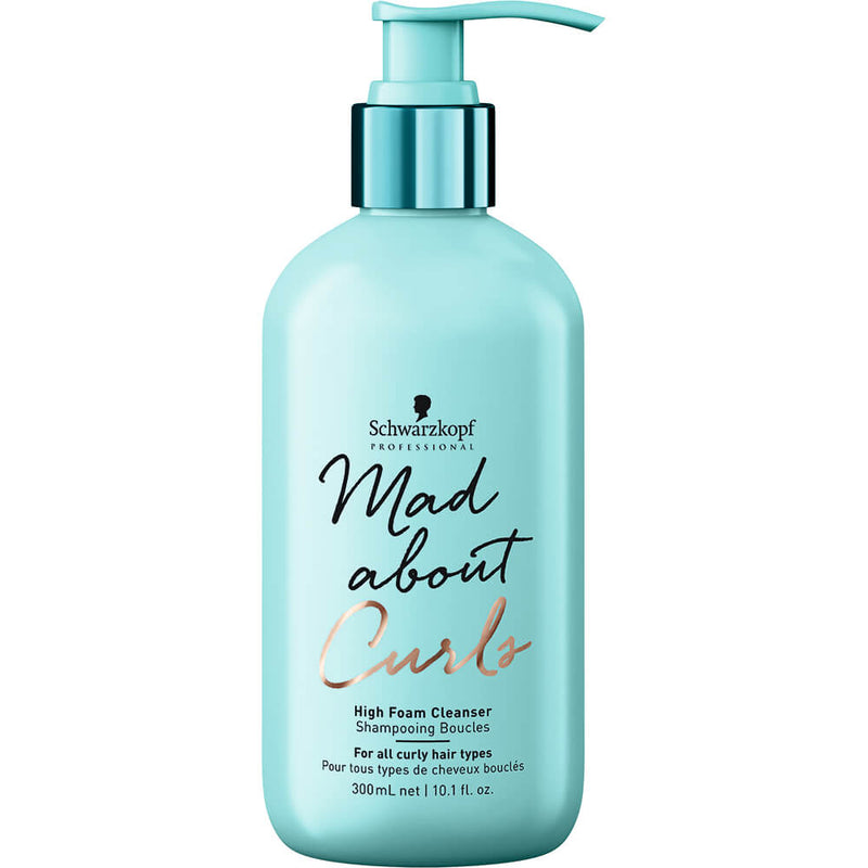 Schwarzkopf - Mad About Curls High Foam Cleanser (300Ml) (β)
