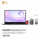 Huawei - MateBook D 14 (512GB) + FREE MateDock 2 Docking Station + Bluetooth Mouse + Ordinary Backpack