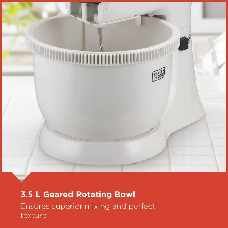 Black & Decker - Bowl And Stand Mixer 300w (β)