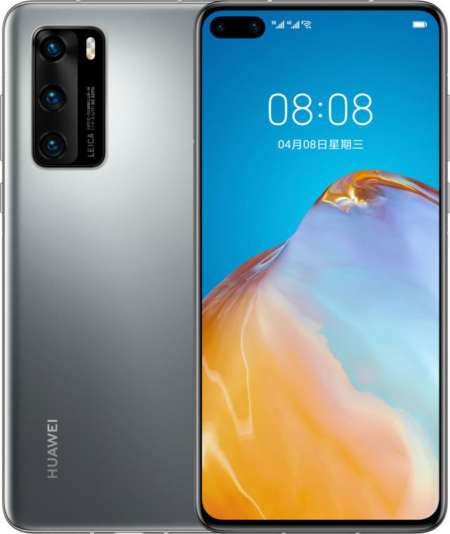 Huawei - P40 (8 GB Ram / 128 GB Rom) + FREE Back Cover & Screen Protector