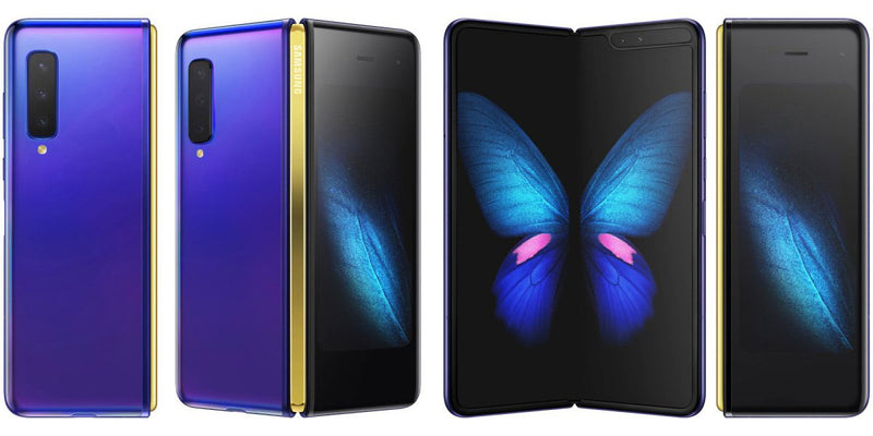 SAMSUNG - Galaxy Fold (12G/512G) + FREE Back Cover & Screen Protector