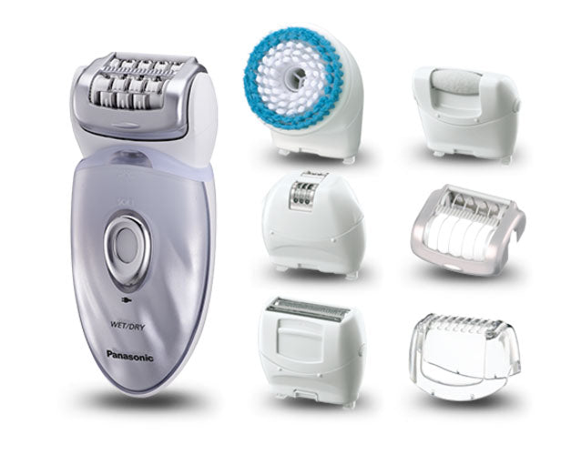 Panasonic - Hand & Body Epilator 7 In 1