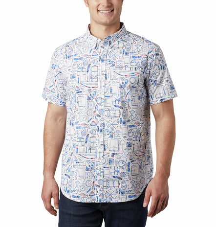 Rapid Rivers Short Sleeve Woven Shirt
