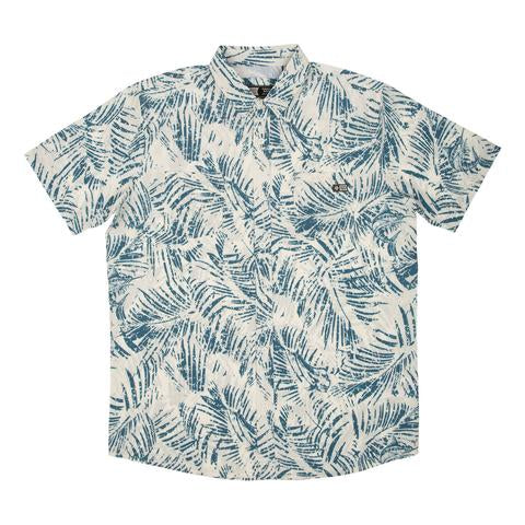 Weathered Short Sleeve UV Woven Shirt