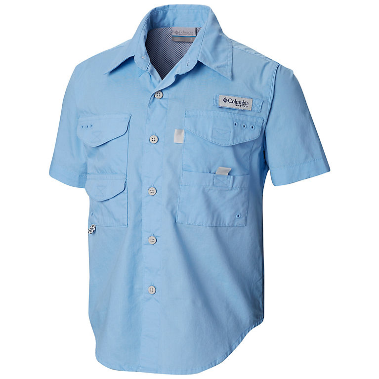 Boys PFG Bonehead Short Sleeve Shirt