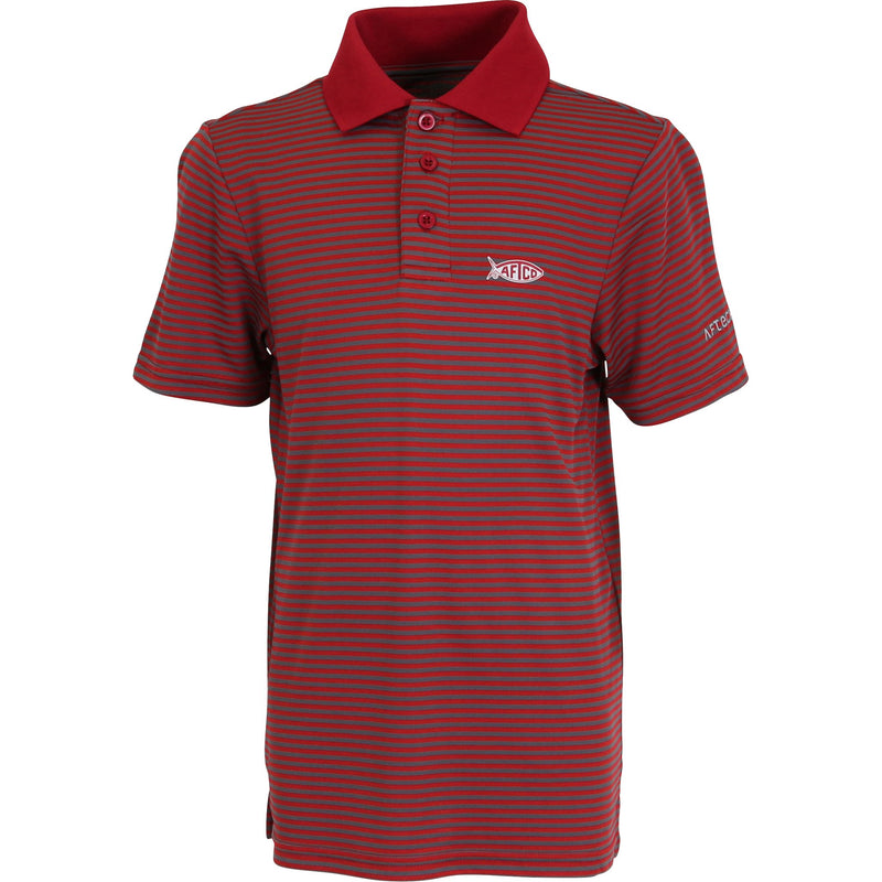 Boys Divot Performance Polo