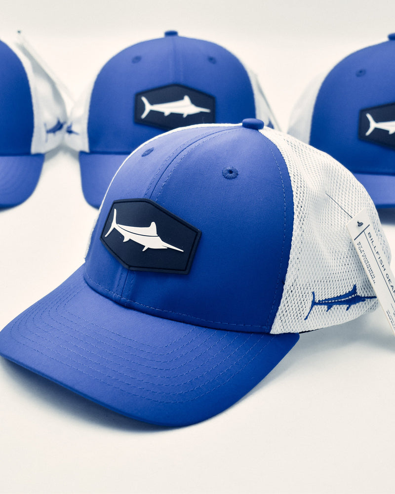 White Marlin Trucker