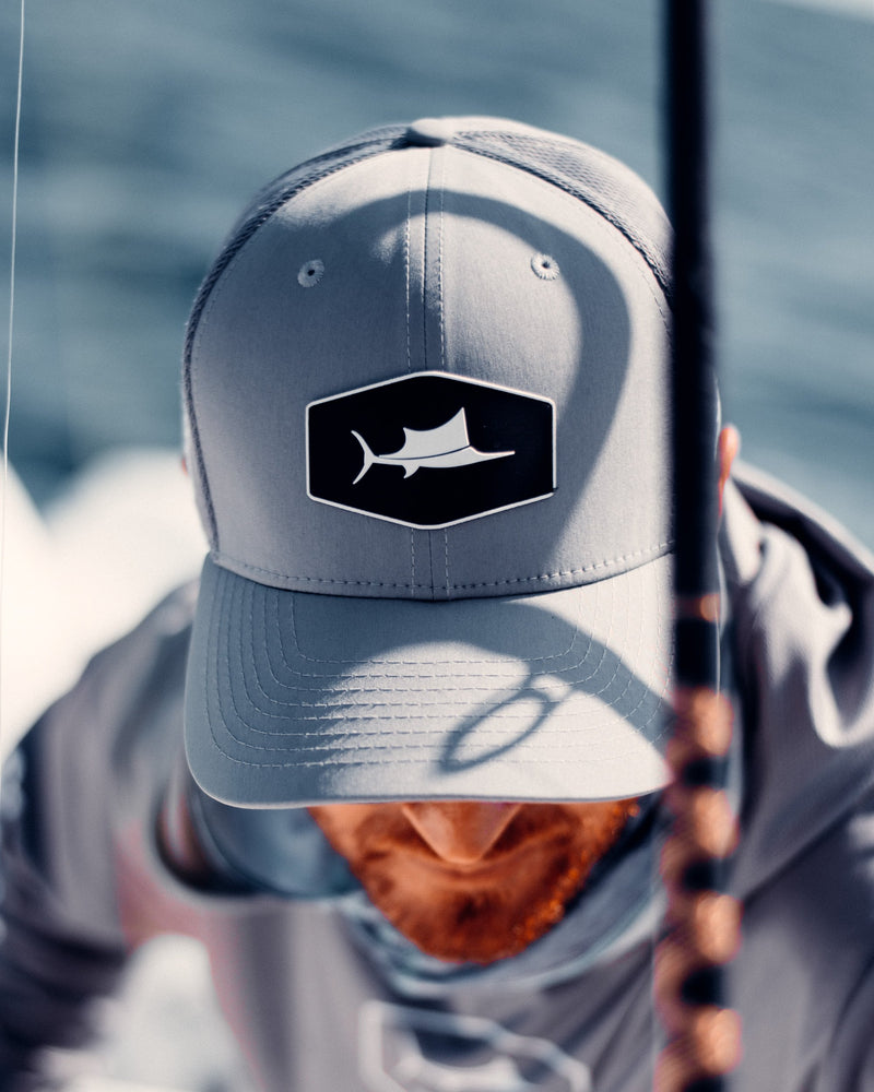 Grey Sailfish Series Trucker- Pro Series