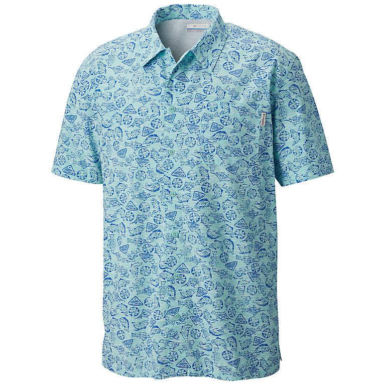 Men's PFG Trollers Best Short Sleeve Shirt