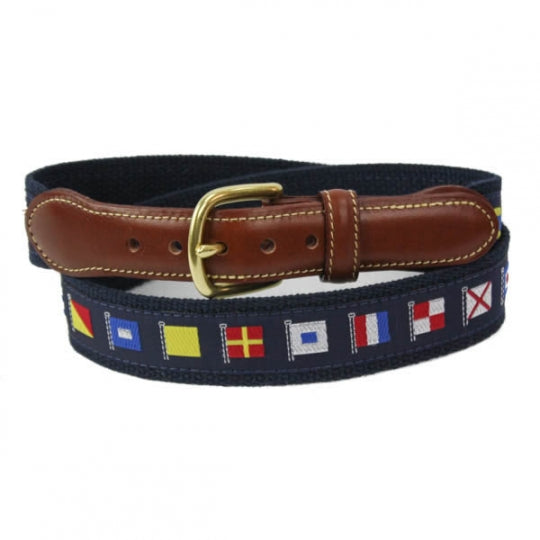 Navy Code Flags Belt
