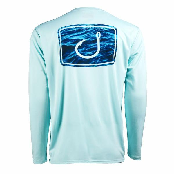 Water Camo Long Sleeve Shirt