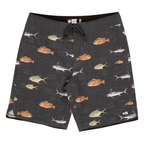 Fish Stamp Boardshort