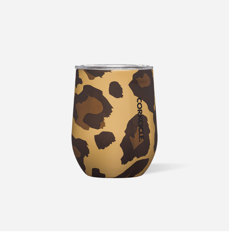Luxe Leopard Stemless