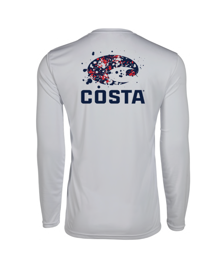 Tech Firework Long Sleeve Shirt