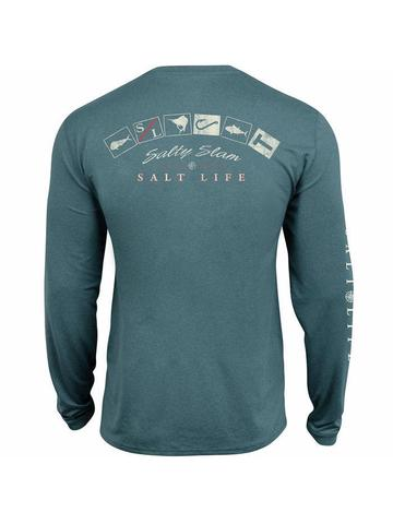 Salty Slam Performance Long Sleeve Tee